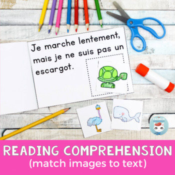 FRENCH Emergent Reader - je NE suis PAS
