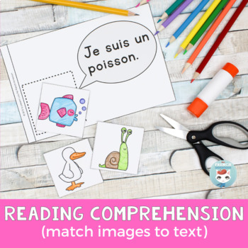 FRENCH Emergent Reader - je SUIS