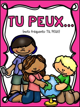 FRENCH Books for Emergent Readers - High Frequency Words Set #7: March