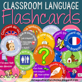 FRENCH CLASSROOM LANGUAGE FLASHCARDS