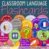 FRENCH CLASSROOM LANGUAGE FLASHCARDS