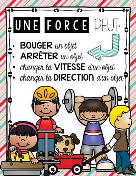 FRENCH FORCES AND MOVEMENT UNIT - GRADE 3 SCIENCE (LES FORCES ET LE MOUVEMENT)