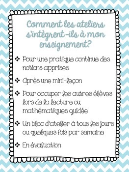 FRENCH /FRANCAIS Third Grade Math Centers: By Strategy- All 10 BUNDLE