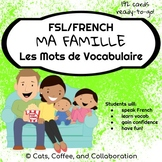 French Vocabulary Cards - Ma Famille (Family)