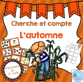 FRENCH Fall Count the room/ Cherche et compte (Automne)