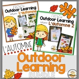 FRENCH Fall Outdoor Learning Activities BUNDLE (Distance Learning)