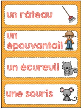FRENCH {Fall}Math and literacy/L'automne {maths et littératie}