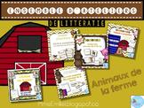 FRENCH {Farm animals} literacy pack/ Ensemble littératie Animaux de la ferme