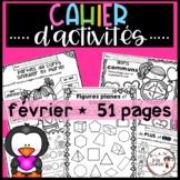 FRENCH February Worksheets/ Cahier d'activités de février