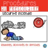 FRENCH Fire Safety Pack/ Activités Sécurité Incendie