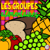 FRENCH Food Groups Interactive Pages