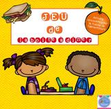 FRENCH {Food} Lunch box Game/ Jeu de la Boîte à dîner (alimentation)