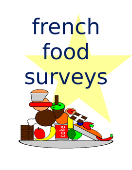 FRENCH Food Survey