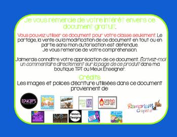 FRENCH Freebie Art Easel Routine/ Routine du centre de peinture GRATUIT