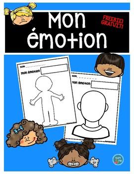 FRENCH Freebie (feelings)/ Mon émotion (GRATUIT)