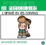 FRENCH Friends and conflict resolution/Amitié et résolution de conflit