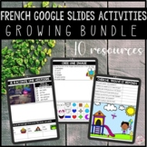 FRENCH GOOGLE SLIDES ACTIVITIES FOR EARLY FINISHERS - GROW