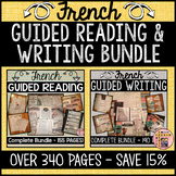 FRENCH GUIDED READING AND WRITING BUNDLE - PRIMARY & JUNIOR (OVER 340 PAGES)
