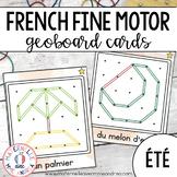 FRENCH Geoboard Summer Math Centre - Centres de mathématiques (été) - Géoplans