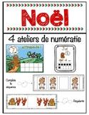 FRENCH Gingerbread Numeracy - Activités de numératie - Bonhomme de pain d'épices