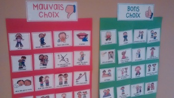 FRENCH Good-Bad Behaviors tools/ Gestion des comportements