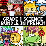 FRENCH Grade 1 Science Unit BUNDLE