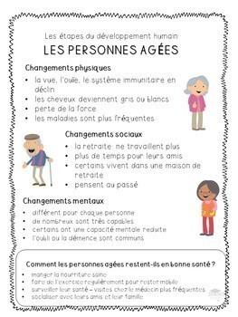 FRENCH - Grade 2: Human Development & Sexual Health