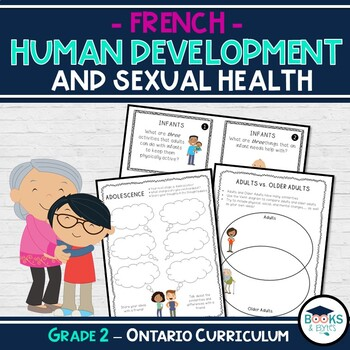 FRENCH - Grade 2: Human Development & Sexual Health