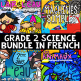 FRENCH Grade 2 Science Unit BUNDLE