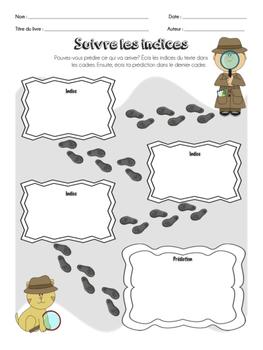 FRENCH Graphic Organizer Bundle PART ONE / Organigrammes Utiles