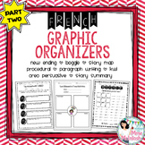 FRENCH Graphic Organizer Bundle PART TWO / Organigrammes utiles