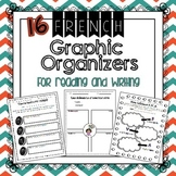 FRENCH Graphic Organizer Bundles 1 & 2 - Save 20%
