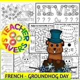 FRENCH Groundhog Day Activities