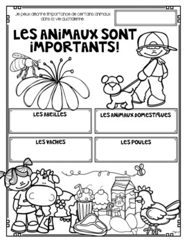 FRENCH Growth and Changes in Animals