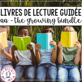 FRENCH Guided Reading Books Level AA (Livres de lecture guidée) GROWING BUNDLE