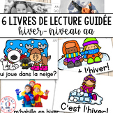 FRENCH Guided Reading Books Level AA (Livres de lecture gu