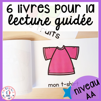 FRENCH Guided Reading Books Level AA (Livres de lecture guidée niveau AA)