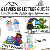 FRENCH Guided Reading Books Level AA (Livres lecture guidé