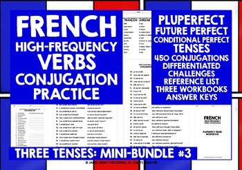 FRENCH HIGH-FREQUENCY VERBS CONJUGATION THREE TENSES #3
