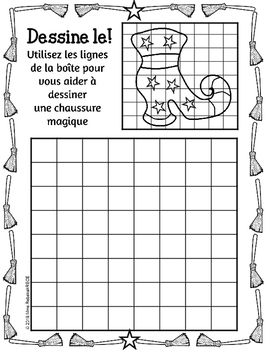 FRENCH Halloween Activities Printables