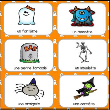 FRENCH Halloween Games and Activities : C'est l'halloween! Les jeux et activités