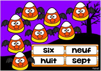 FRENCH BOOM CARDS • Halloween Je compte de 1 à 20