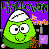 FRENCH BOOM CARDS • Halloween Counting with Audio