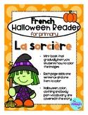 FRENCH Halloween Reader Mini-Book: La Sorcière