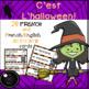 FRENCH Halloween Worksheets and Activities : C'est l'halloween! Les activités
