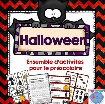 FRENCH {Halloween}Math and literacy/Halloween {maths et littératie}