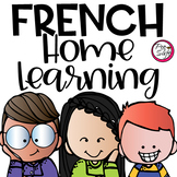 FRENCH Home Learning • Distance Learning