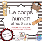 FRENCH {Human Body}MegaPack/ Corps humain {affiches et activités}