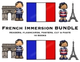 FRENCH IMMERSION BUNDLE!   COMPLETE SET - 15 BOOKS -FRENCH EMERGENT READERS!