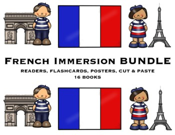 NEW!  FRENCH IMMERSION BUNDLE + ENGLISH IMMERSION BUNDLE = BILINGUAL BUNDLE